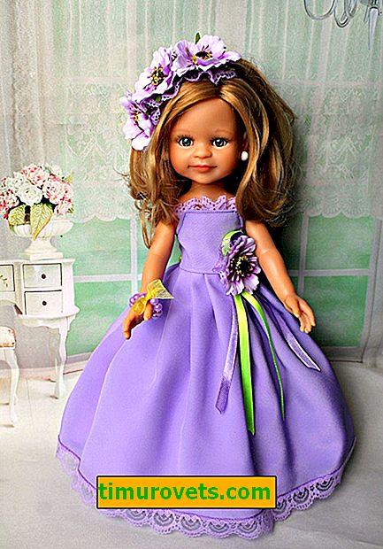 Cómo coser un vestido para una muñeca