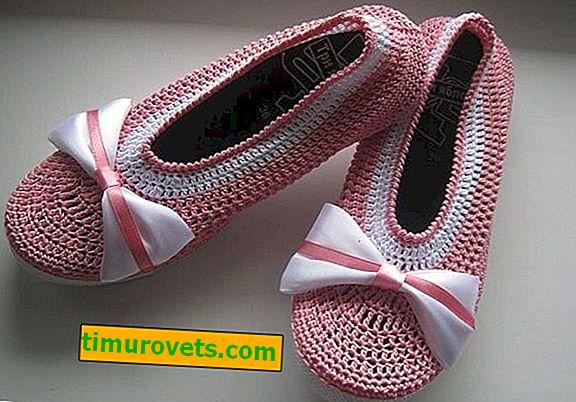 Ballerines Crochet