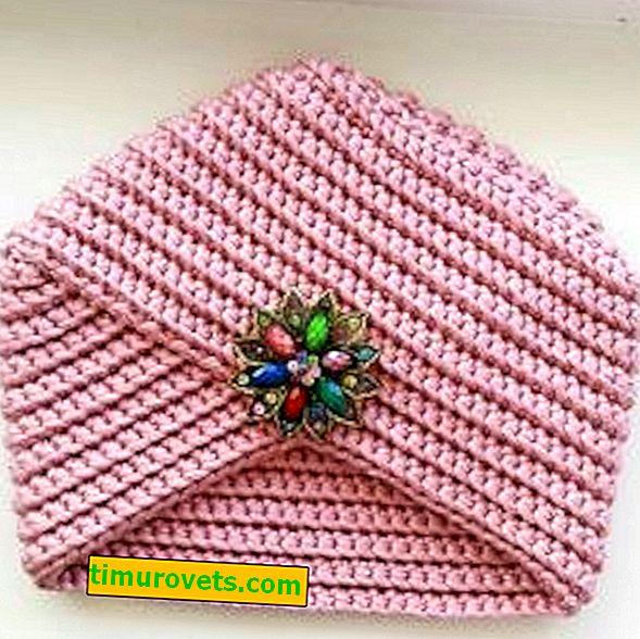 Háčkovací turban