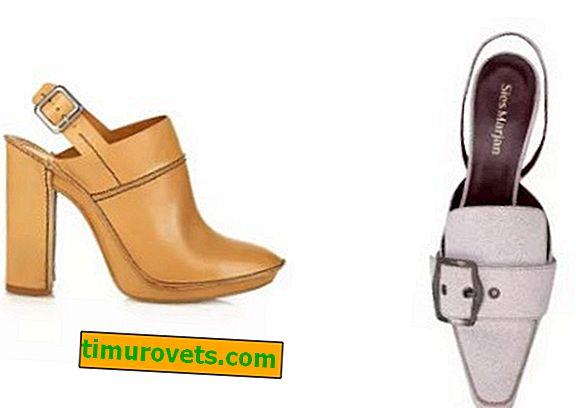 Models of stylish shoes 2019/20: mules, dorseys and slingbacks