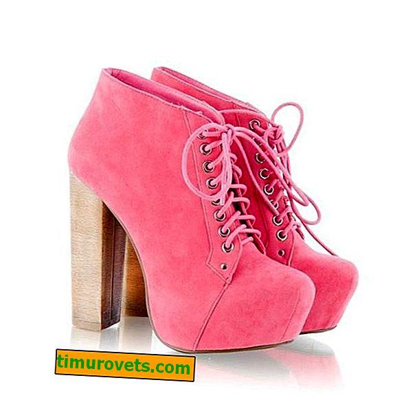Kako nositi ružičaste čizme za gležnjeve