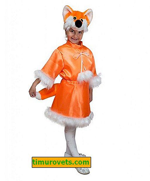 Costume bricolage chanterelle pour fille
