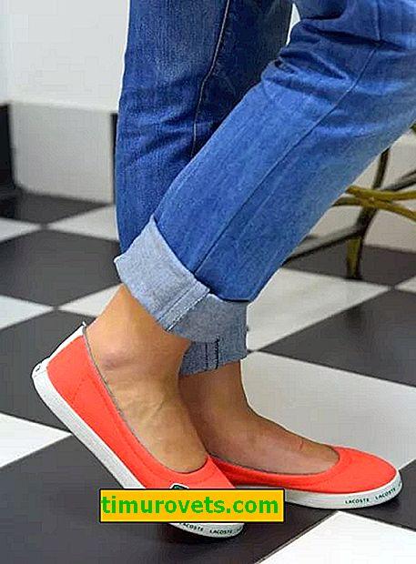 Как да носите балетни обувки