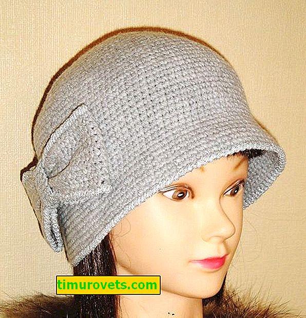 Плетене на една кука шапка