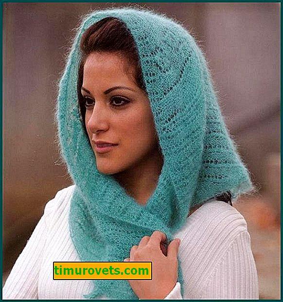 Wie man einen Schal mit Stricknadeln strickt