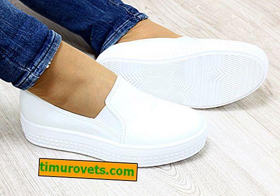 Hvad skal man bære med hvide slip-on sneakers