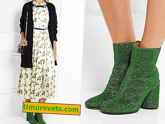 Hvordan bruke grønne ankelstøvler?