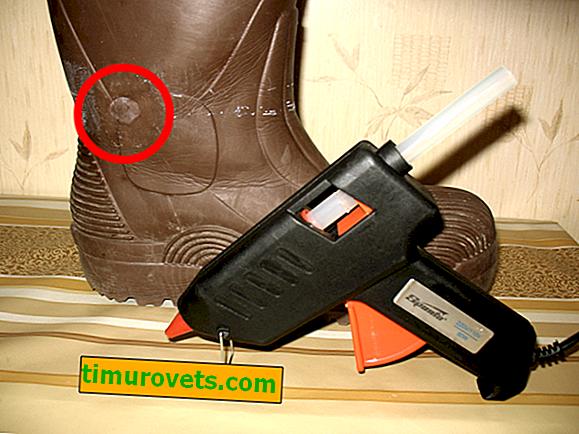 Kako zalijepiti EVA čizme?