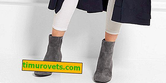 Comment porter des bottines grises