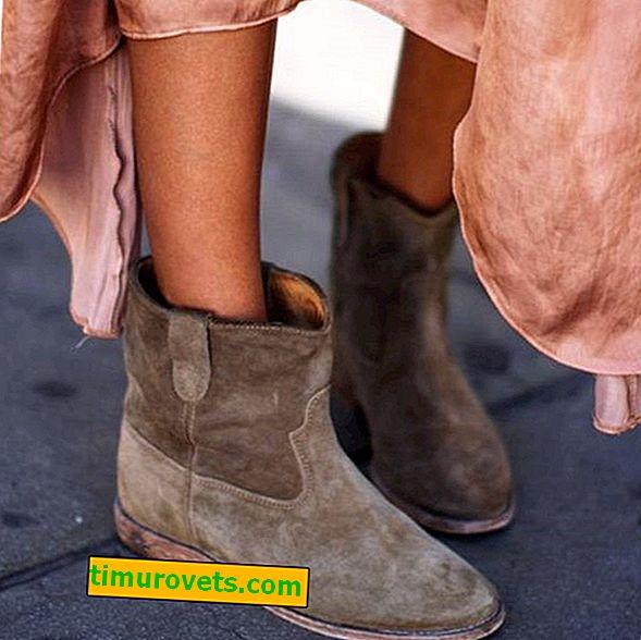 Kako nositi gleženjske škornje jeseni?