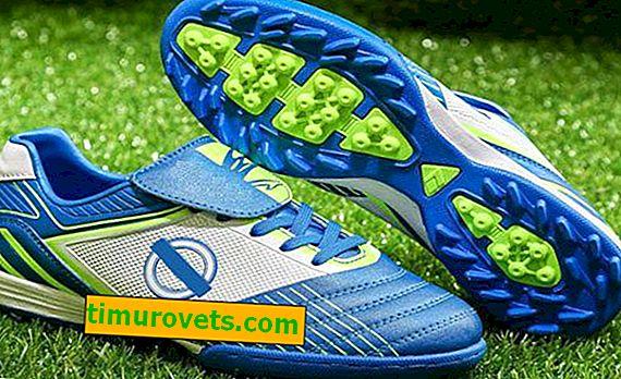 Tamaño de las botas de fútbol