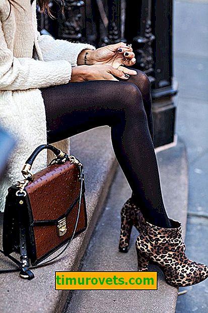 Que porter avec des chaussons léopard?