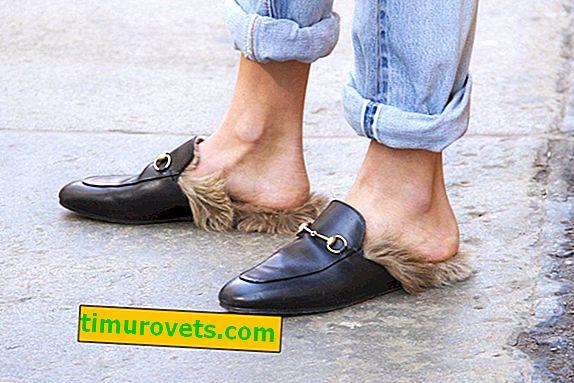 Hvad skal man bære loafers med pels?