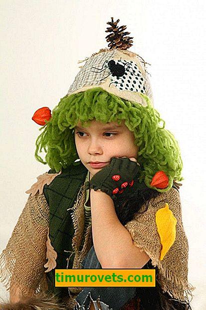 DIY kikimora costume