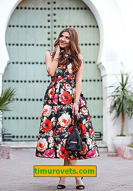 Kako ne postati jednostavnica noseći cvjetnu haljinu
