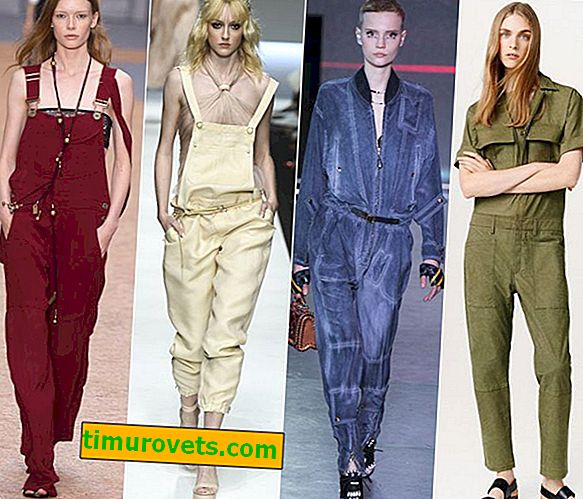 Work overalls as a fashion trend in clothes