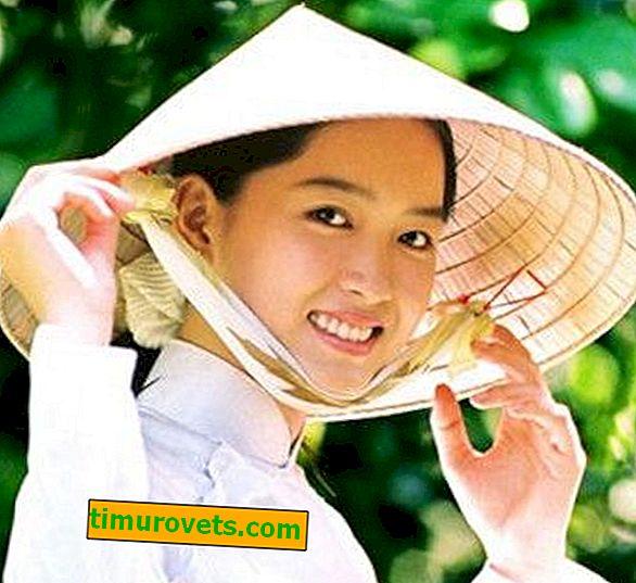 Как се казва виетнамската шапка?