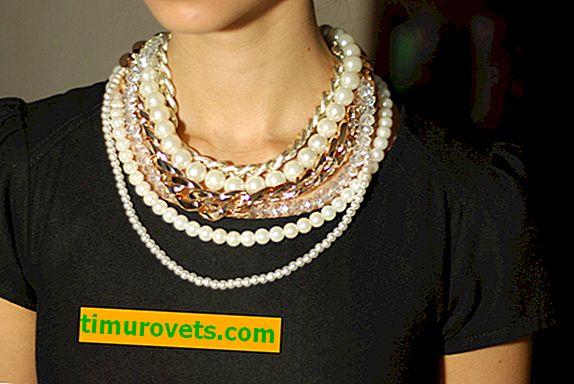 Как да носите перли