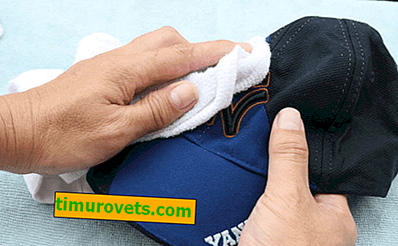 How to wash a baseball cap