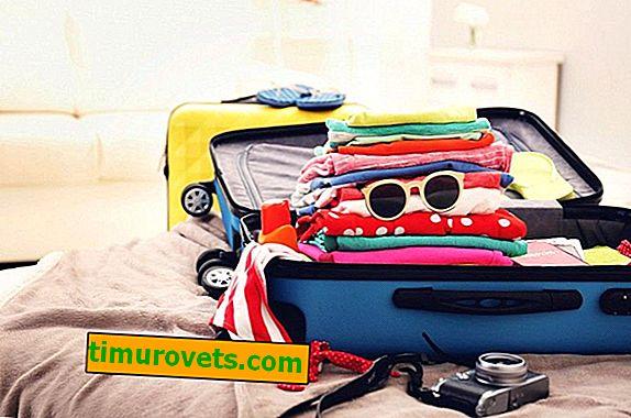 Как да опаковате нещата компактно в куфар