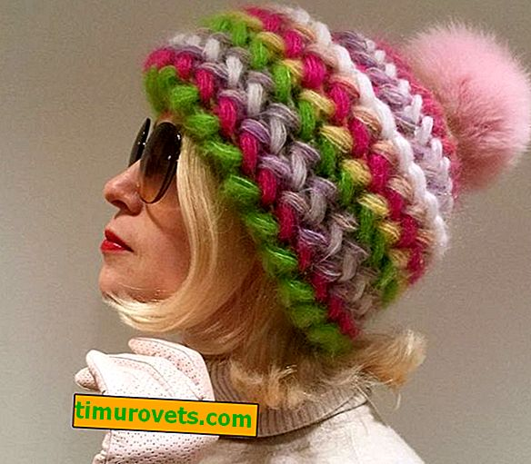 Crochet volume hat
