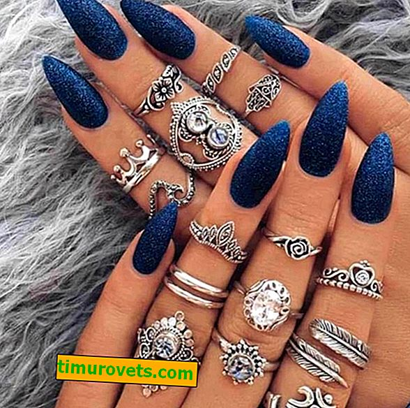 Как да носите няколко пръстена на един пръст?