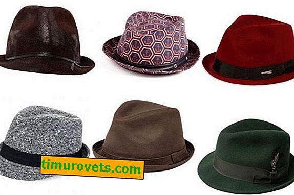 Tipos de Chapéus Masculinos
