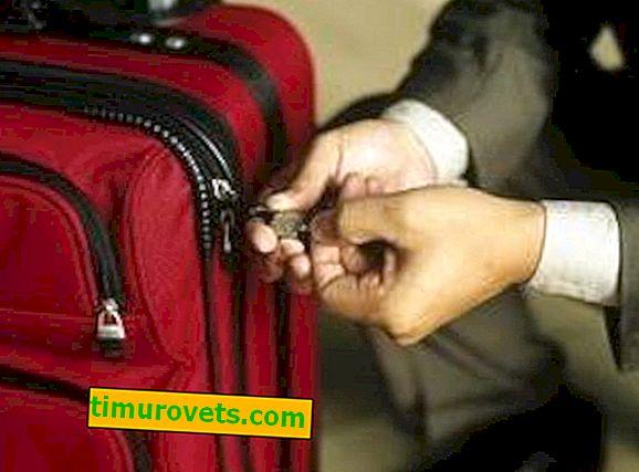 Hvordan endre eller tilbakestille koden på kofferten?