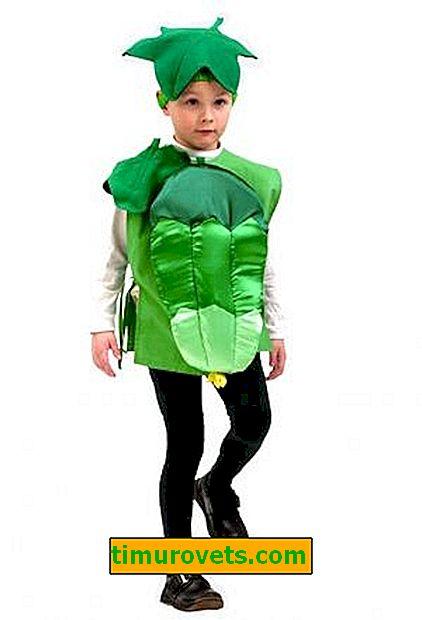 Costume de concombre bricolage pour garçon