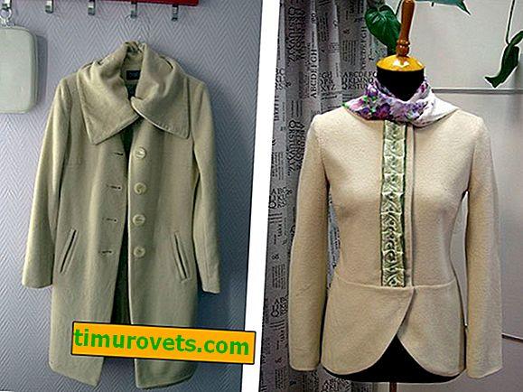 Как да промените палто в късо палто