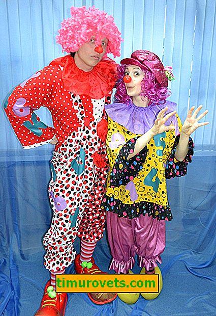 Napravite DIY klaunski kostim za odrasle