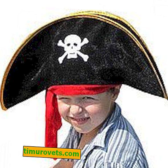 Quel est le nom du chapeau de pirate?