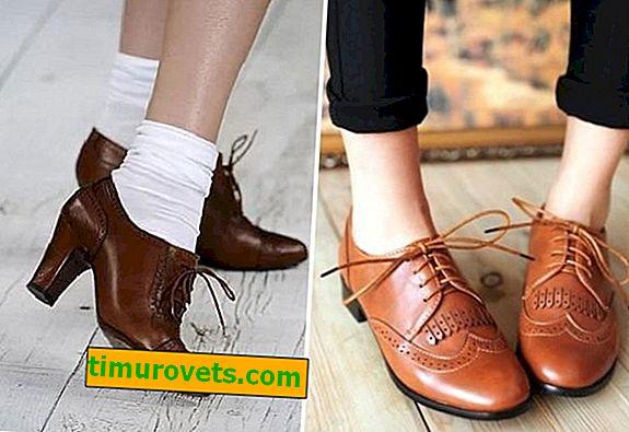 Jak nosić brązowe buty damskie
