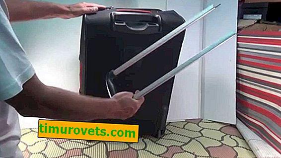 Как да поправите дръжката на куфар на куфар със собствените си ръце