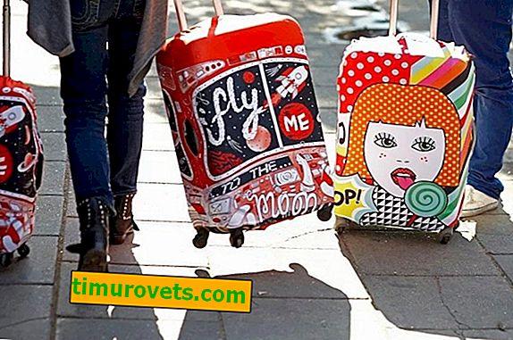 Comment mettre une housse sur une valise?