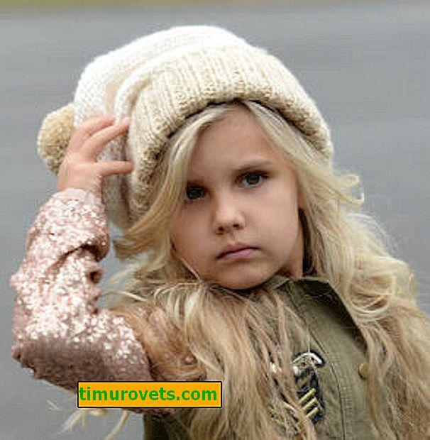 Strickmütze für Mädchen