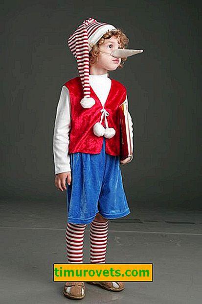 Направи си костюм с пинокио