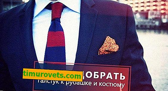 Jak wybrać krawat na garnitur i koszulę