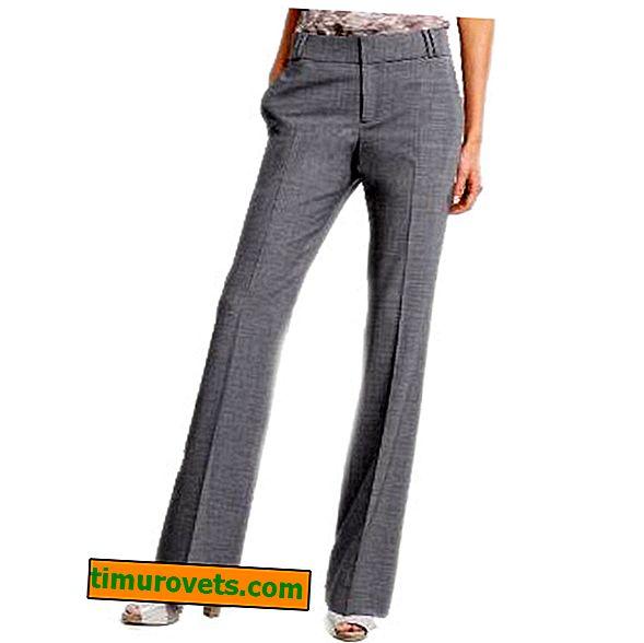 Mønster og skræddersyning af kvinders bukser