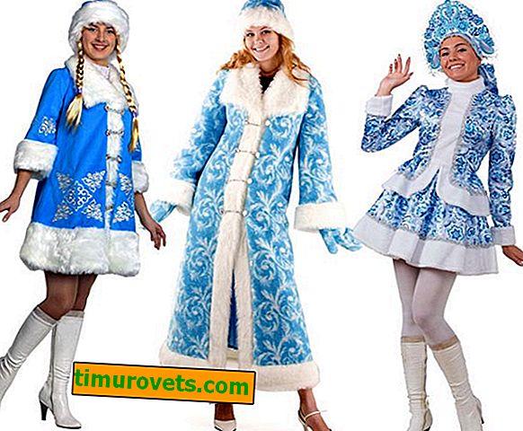 DIY Kar Kızlık Kostüm