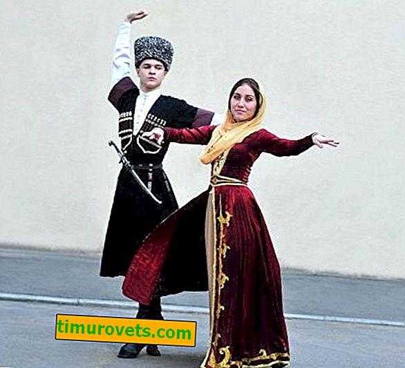 Traje nacional checheno (foto)