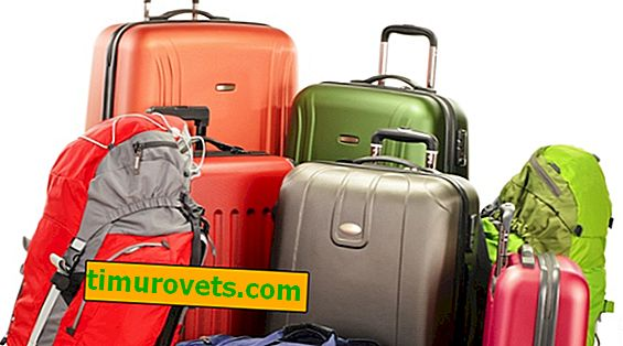 Types de valises
