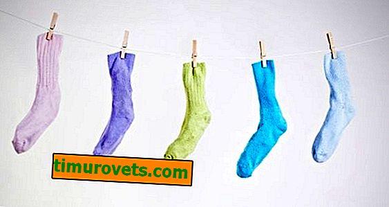 Kako oprati čarape