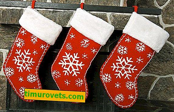 DIY Weihnachtssocke für Geschenke