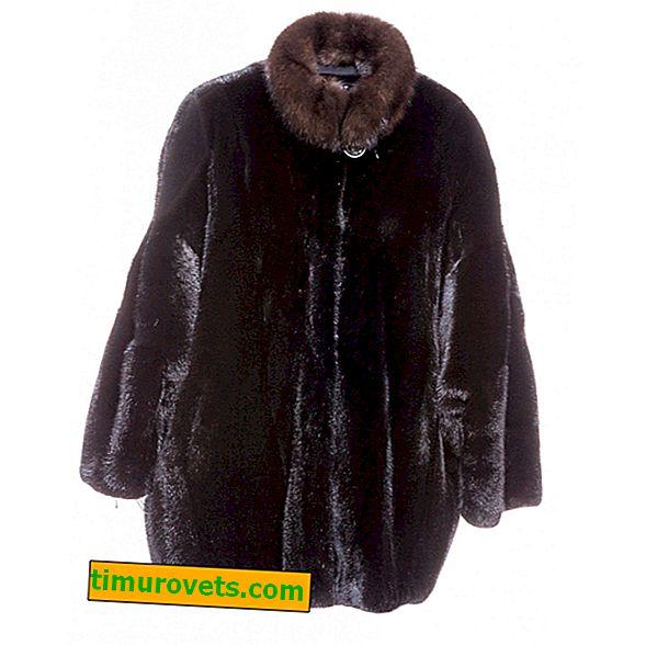 Manteau de fourrure court - qu'est-ce que c'est (photo)