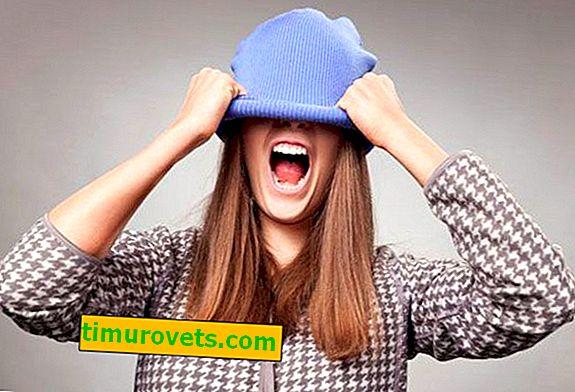 Какво да направите, ако шапката е опъната след измиване