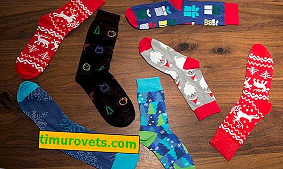 Kako sklopiti čarape