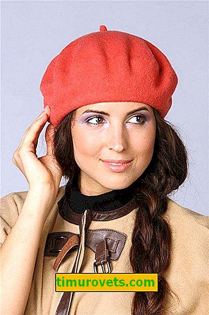 Slik syr du en hatt for kvinner fra en drapering (med mønster)