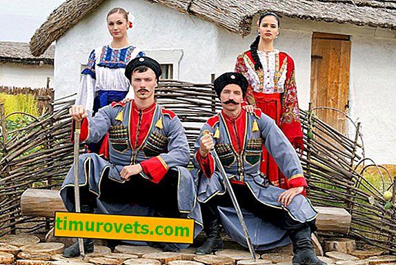 Nasjonaldrakter i Krasnodar-territoriet