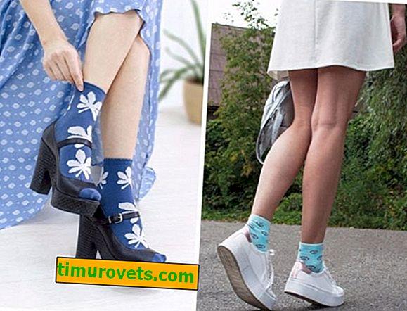 Comment porter des chaussettes colorées: femmes et hommes